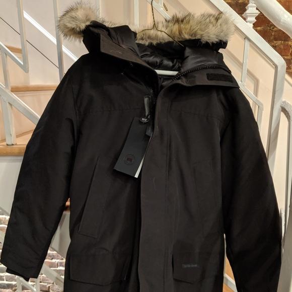 Canada Goose Men's Langford Parka Black Size L NWT